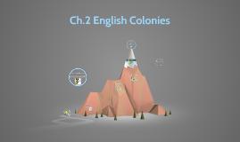 Ch.2 English Colonies