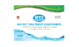Water Treatment Equipments, India