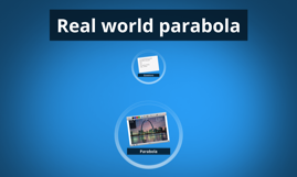 Real world parabola