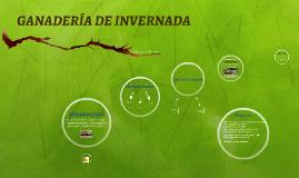 GANADERIA DE INVERNADA