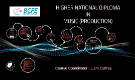 BCFE - Open Day - Music Production Presentation 2018