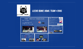 LCCHS Sonic Howl TEAM #3985