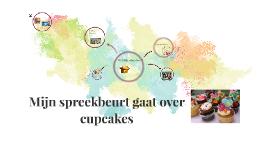 Mijn spreekbeurt gaat over cupcakes