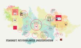 Feminist psychologies presentation