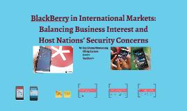 blackberry international markets