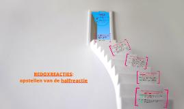 redoxreacties: halfreactie opstellen