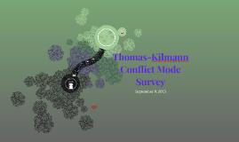 Thomas-Kilmann Conflict Assessment
