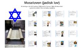 Moseloven (jødisk lov)