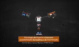 Psicologia do Esporte e Internet: possibilidades formativas