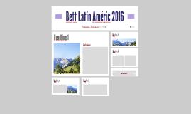Bett Latin Améric 2016