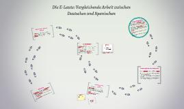 Die E-Laute: Vergleichende Arbeit zwischen Deutschen und Spa