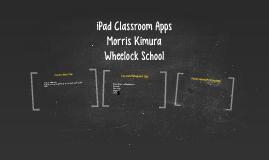 iPad Classroom Apps
