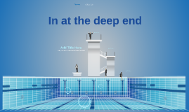 Prezi Template - In at the deep end by mark paasman