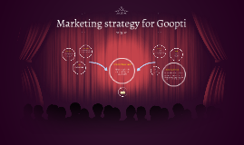 Marketing strategy for Goopti