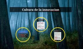 Cultura de la innovacion