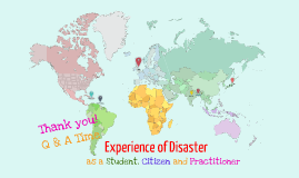 Experience of Disaster (1st conference) - MSc Disaster Management and Sustainable Development Students Present 2013