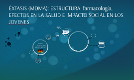 ÉXTASIS (MDMA): ESTRUCTURA, FARMACOLOGIA, EFECTOS EN LA SALU