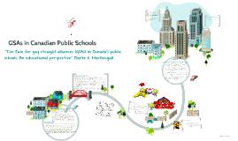 Copy of GSAs in Canadian Public Schools