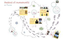 Copy of Musées et monuments en France