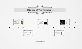 The history of number one