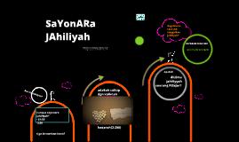 SAYOnARa JahiliYaH
