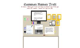 Copy of Common Human Trait