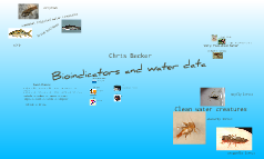 Bioindicators and water data