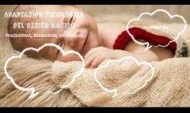 Adaptación fisiológica del Recien Nacido