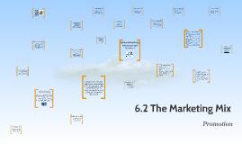 6.2 The Marketing Mix