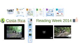 Costa Rica Reading Week
