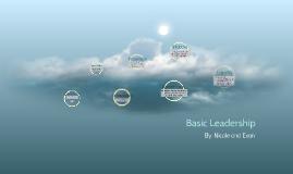 Basic Leadership