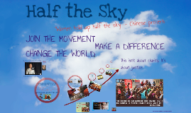 Half the Sky - Join the Movement! 2015