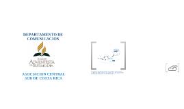 DEPARTAMENTO DE COMUNICACION ACSCR