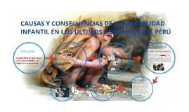 CAUSAS Y CONSECUENCIAS DE LA MORTALIDAD INFANTIL EN LOS ULTI