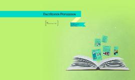 Escritores Peruanos