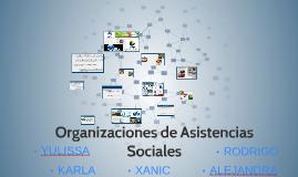 Organizaciones de Asistencias Sociales
