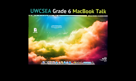 Grade 6 MacBook Talk