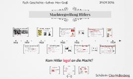Machtergreifung Hitlers - legal?