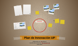 Plan de Innovación UP