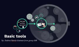 Basic tools