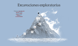 Copy of Excavaciones exploratorias