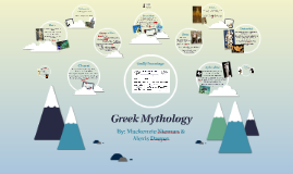 Copy of Greek Mythology