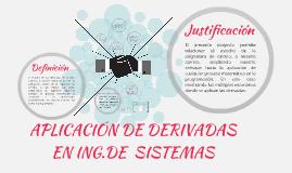 Copy of DERIVADAS EN ING.DE  SISTEMAS E INFORMATICA