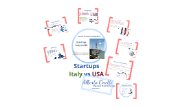 Startups - Italy vs US - Onetti IID 2013