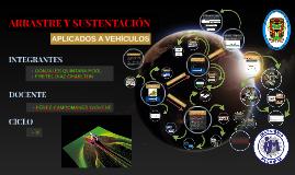 ARRASTRE Y SUSTENTACION (Aplicado a Vehiculos)