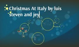 Christmas At Italy