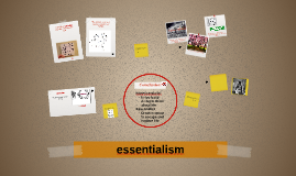 Copy of essentialism
