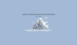 BTEC - 131/sn1 Safety and Environmental Considerations