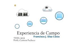 Experiencia de Campo