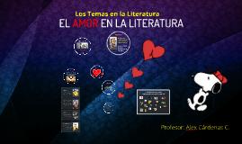 Copy of EL AMOR EN LA LITERATURA